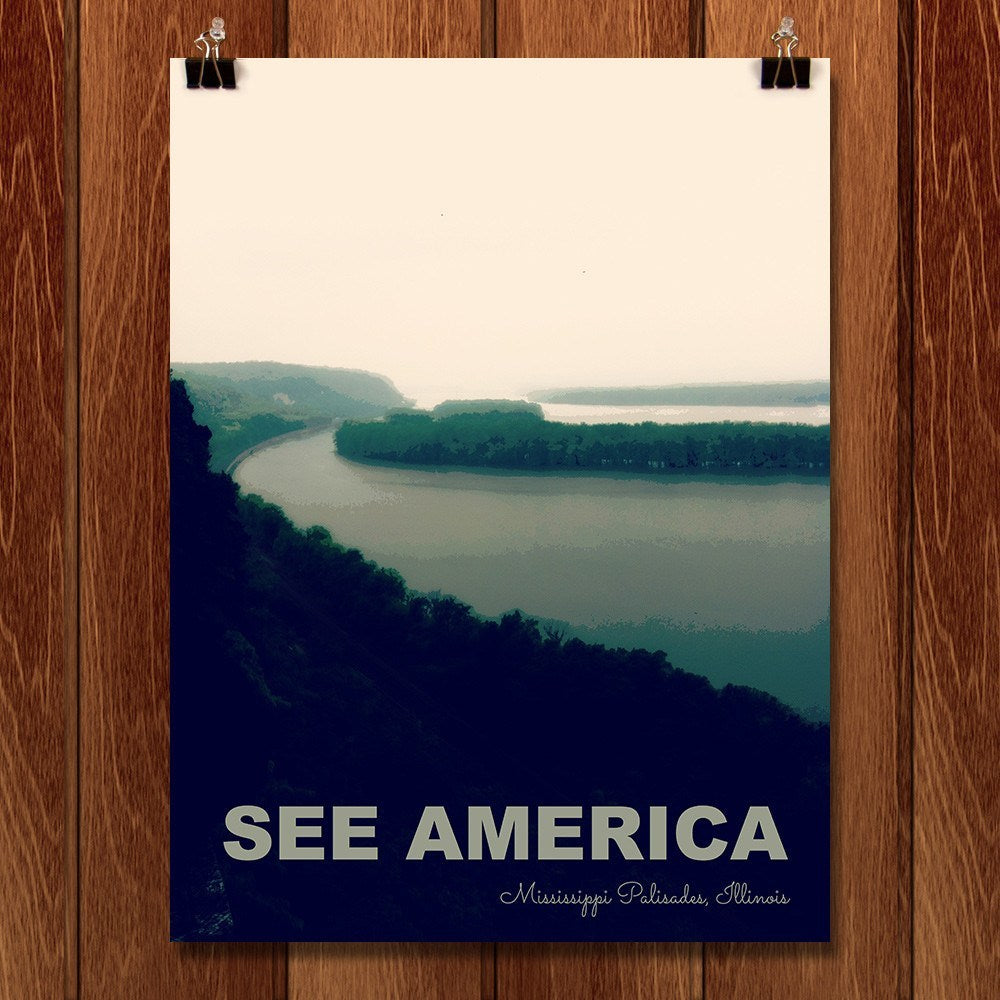 Mississippi Palisades State Park by Jillian Chapman for See America - 1