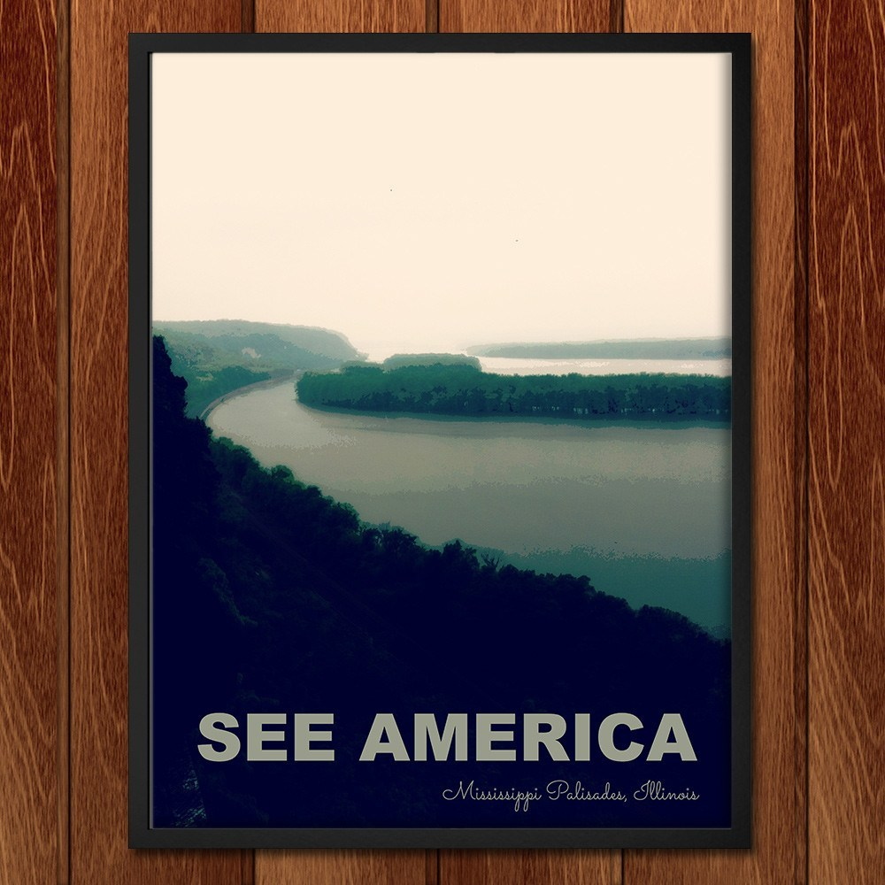 Mississippi Palisades State Park by Jillian Chapman for See America - 2
