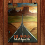 Monument Valley by Bryan Bromstrup for See America - 1