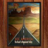 Monument Valley by Bryan Bromstrup for See America - 2