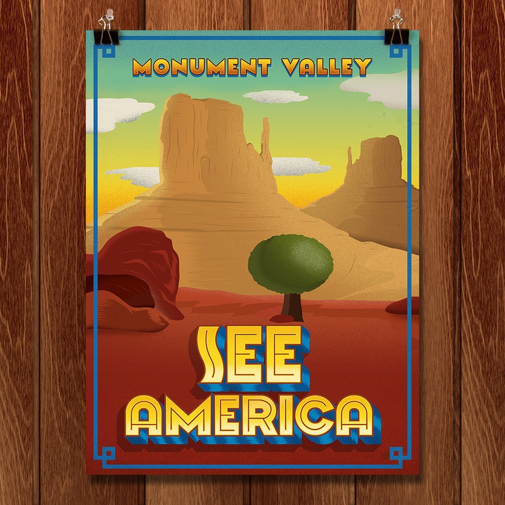 Monument Valley by Roberlan Borges for See America - 1