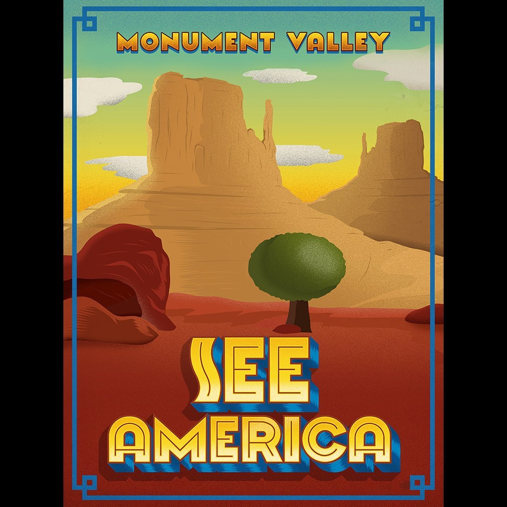 Monument Valley by Roberlan Borges for See America - 3