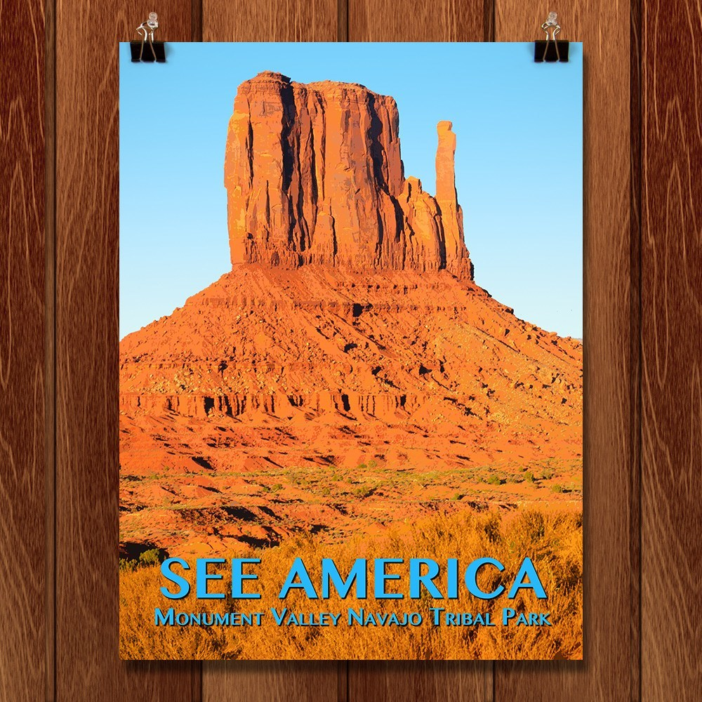 Monument Valley Navajo Tribal Park by Zack Frank for See America - 1