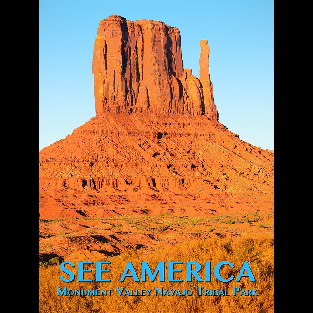 Monument Valley Navajo Tribal Park by Zack Frank for See America - 3