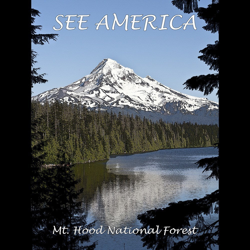 Mount Hood National Forest by Marcia Brandes for See America - 3