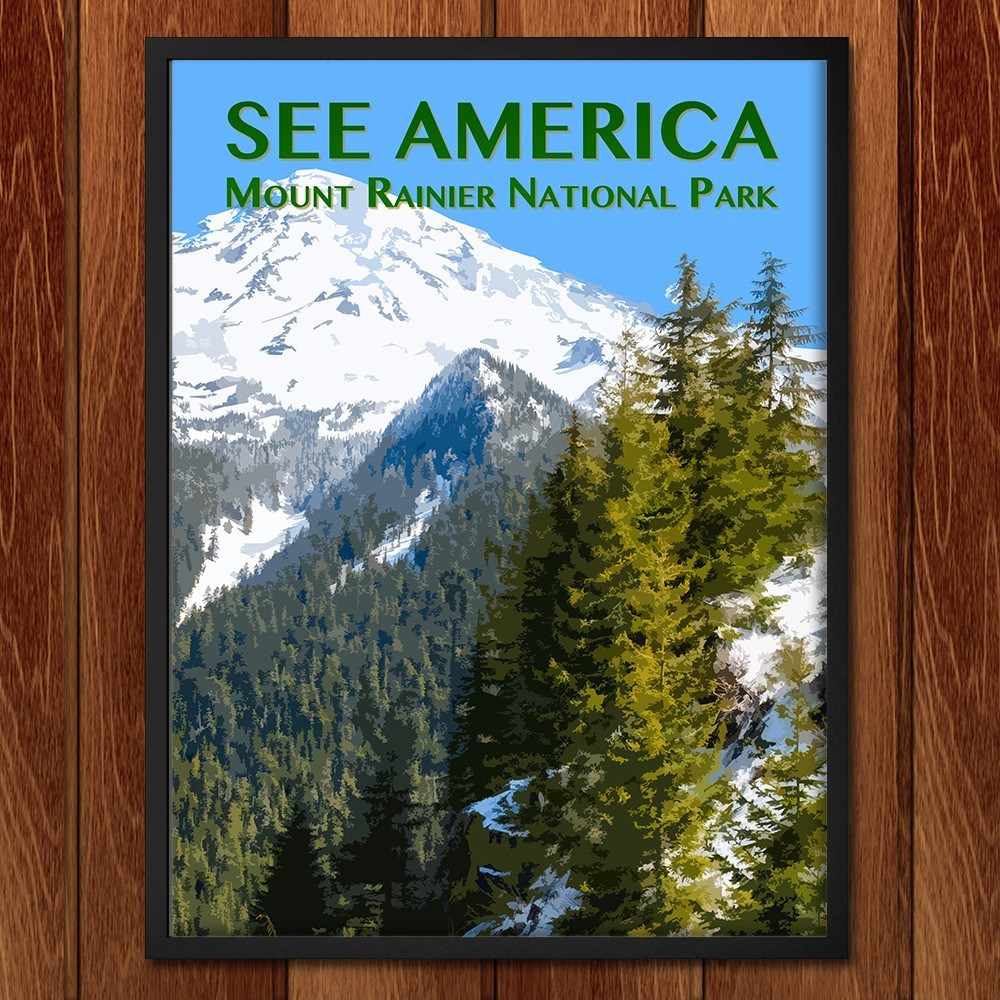 Mount Rainier National Park by Zack Frank for See America - 2
