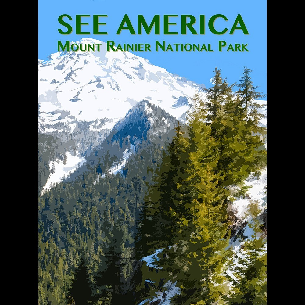Mount Rainier National Park by Zack Frank for See America - 3