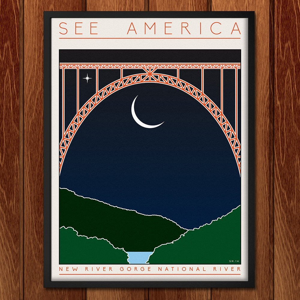 New River Gorge by Shane Henderson for See America - 2