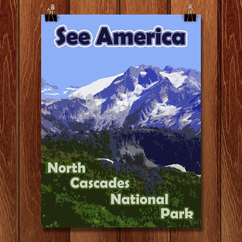North Cascades National Park 2 by Eitan S. Kaplan for See America - 1