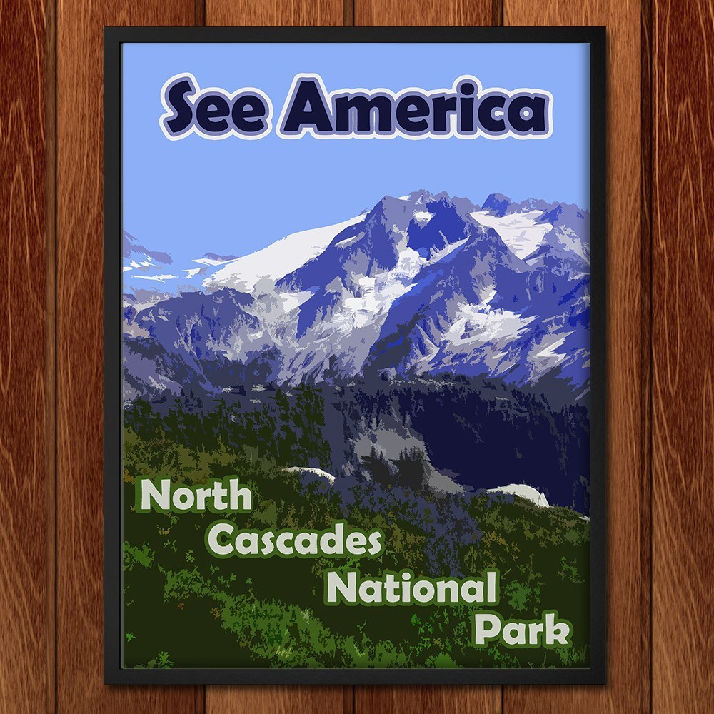 North Cascades National Park 2 by Eitan S. Kaplan for See America - 2