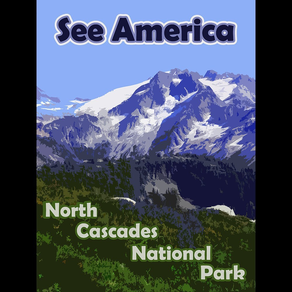 North Cascades National Park 2 by Eitan S. Kaplan for See America - 3