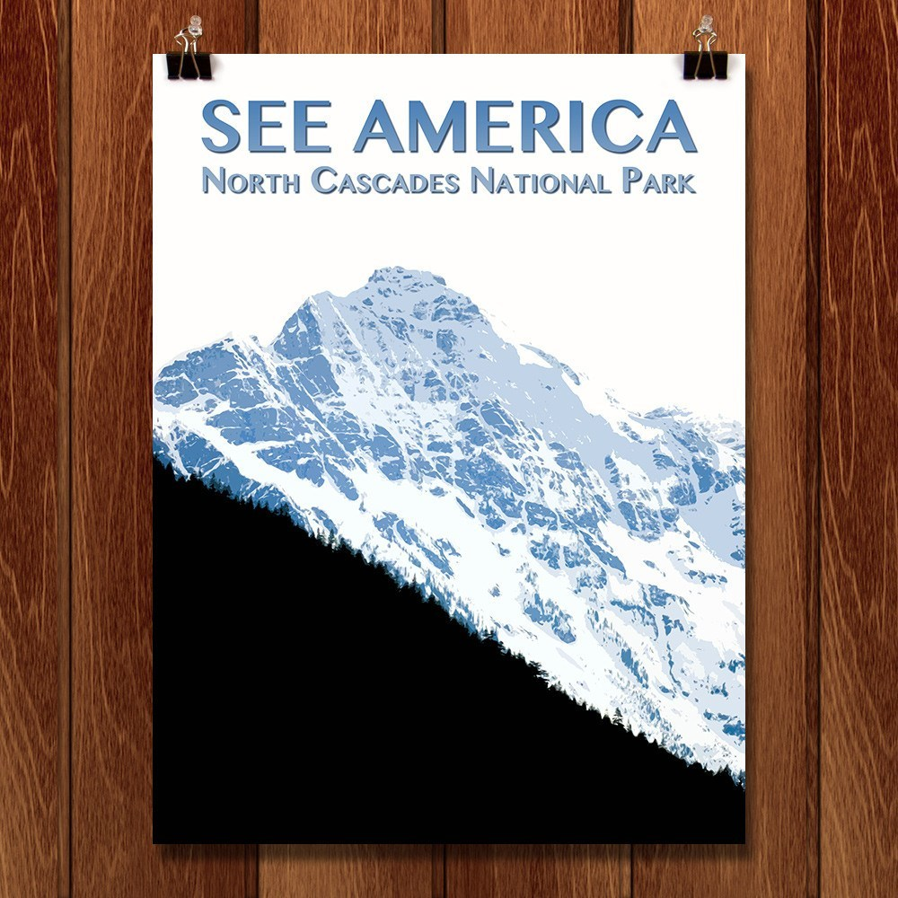 North Cascades National Park by Zack Frank for See America - 1