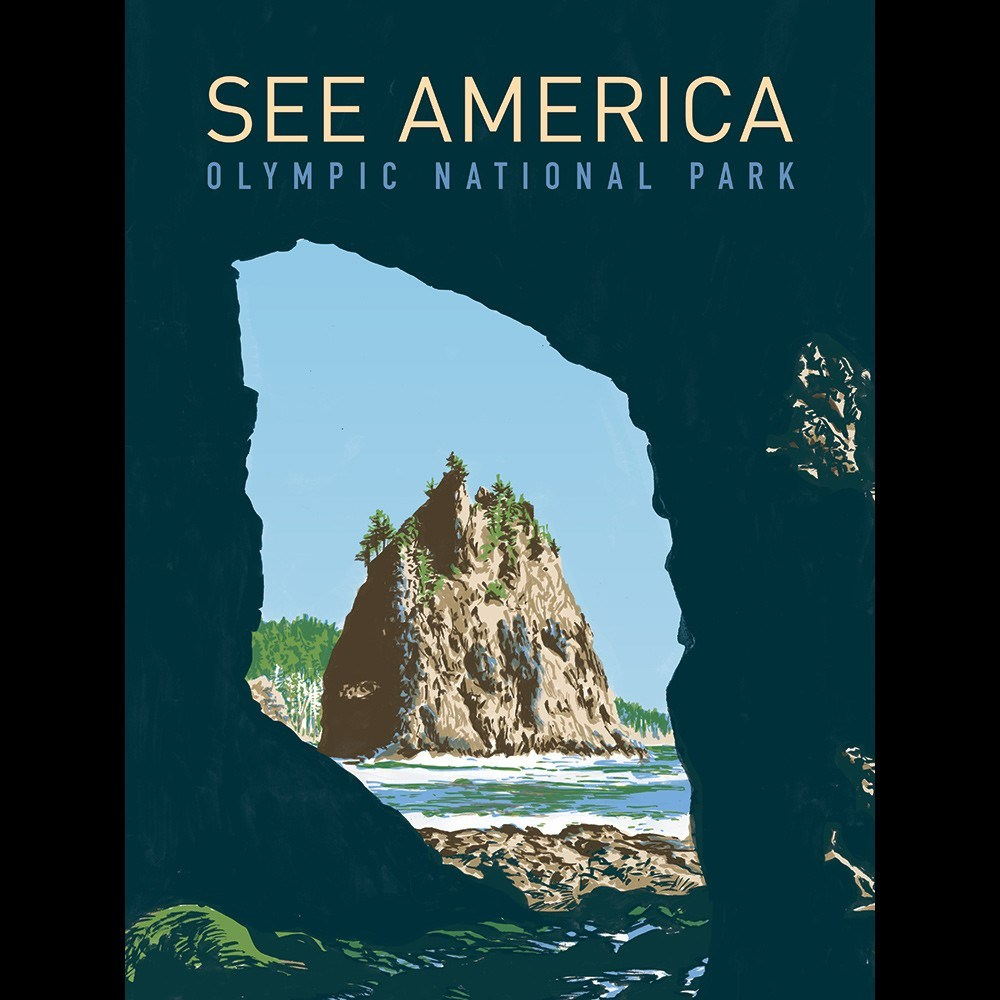 Olympic National Park by Corbet Curfman for See America - 3