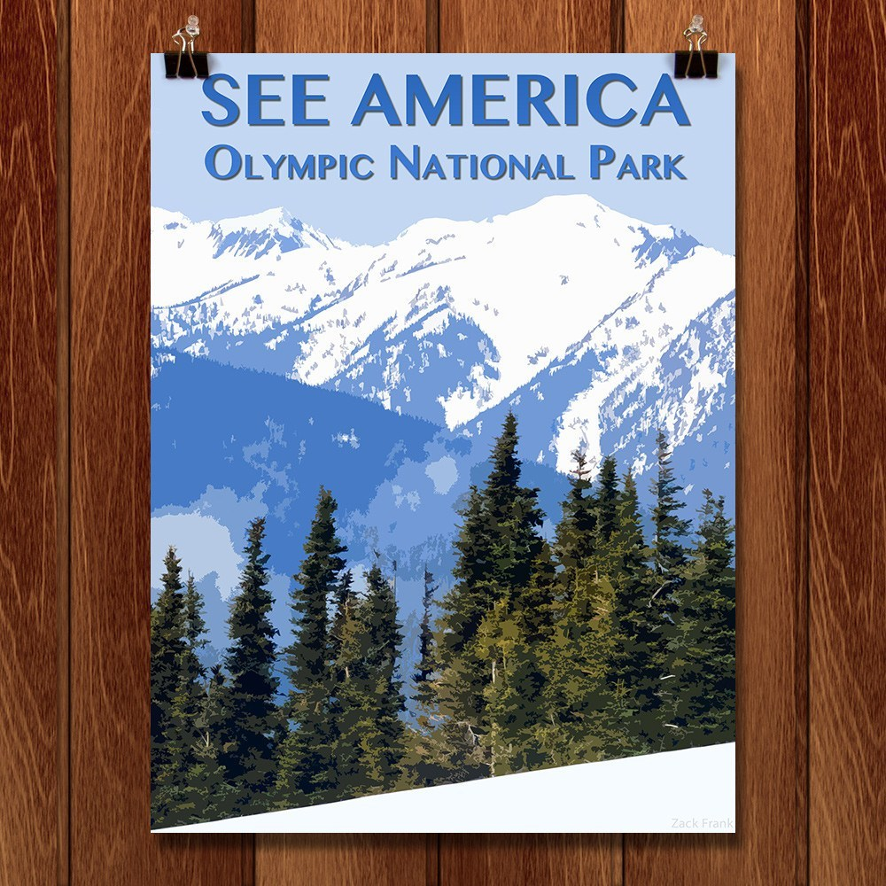 Olympic National Park by Zack Frank for See America - 1