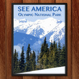 Olympic National Park by Zack Frank for See America - 2