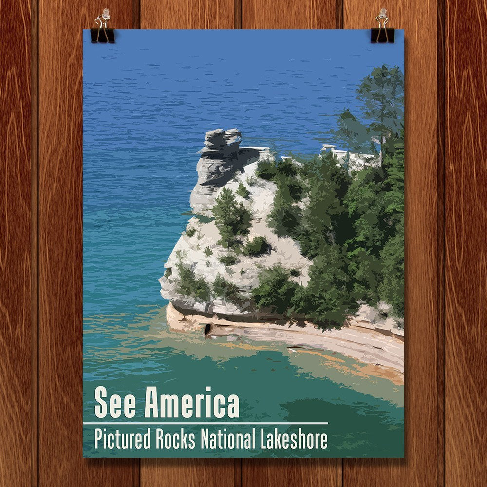 Pictured Rocks National Lakeshore by Katie for See America - 1