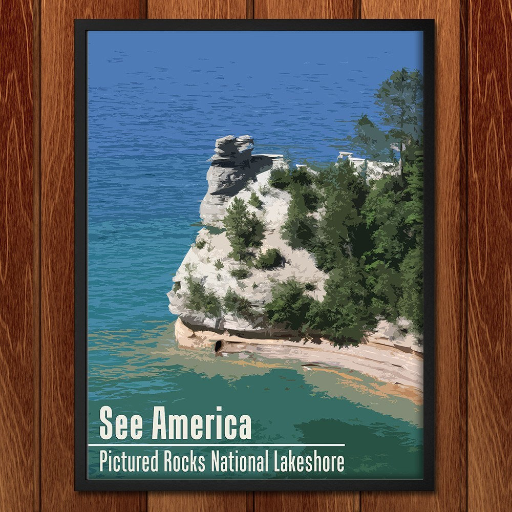 Pictured Rocks National Lakeshore by Katie for See America - 2