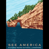 Pictured Rocks National Lakeshore by Mark Forton for See America - 3