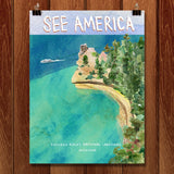 Pictured Rocks National Lakeshore by Susanne Lamb for See America - 1
