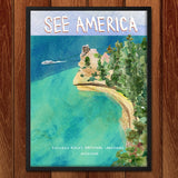 Pictured Rocks National Lakeshore by Susanne Lamb for See America - 2