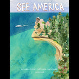 Pictured Rocks National Lakeshore by Susanne Lamb for See America - 3