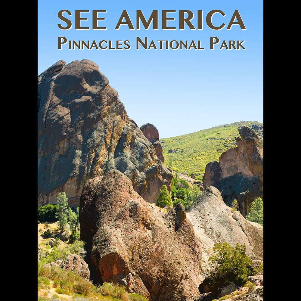 Pinnacles National Park by Zack Frank for See America - 3
