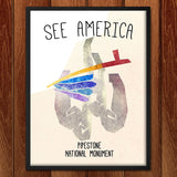 Pipestone National Monument  by Eleanor Beeden for See America - 2
