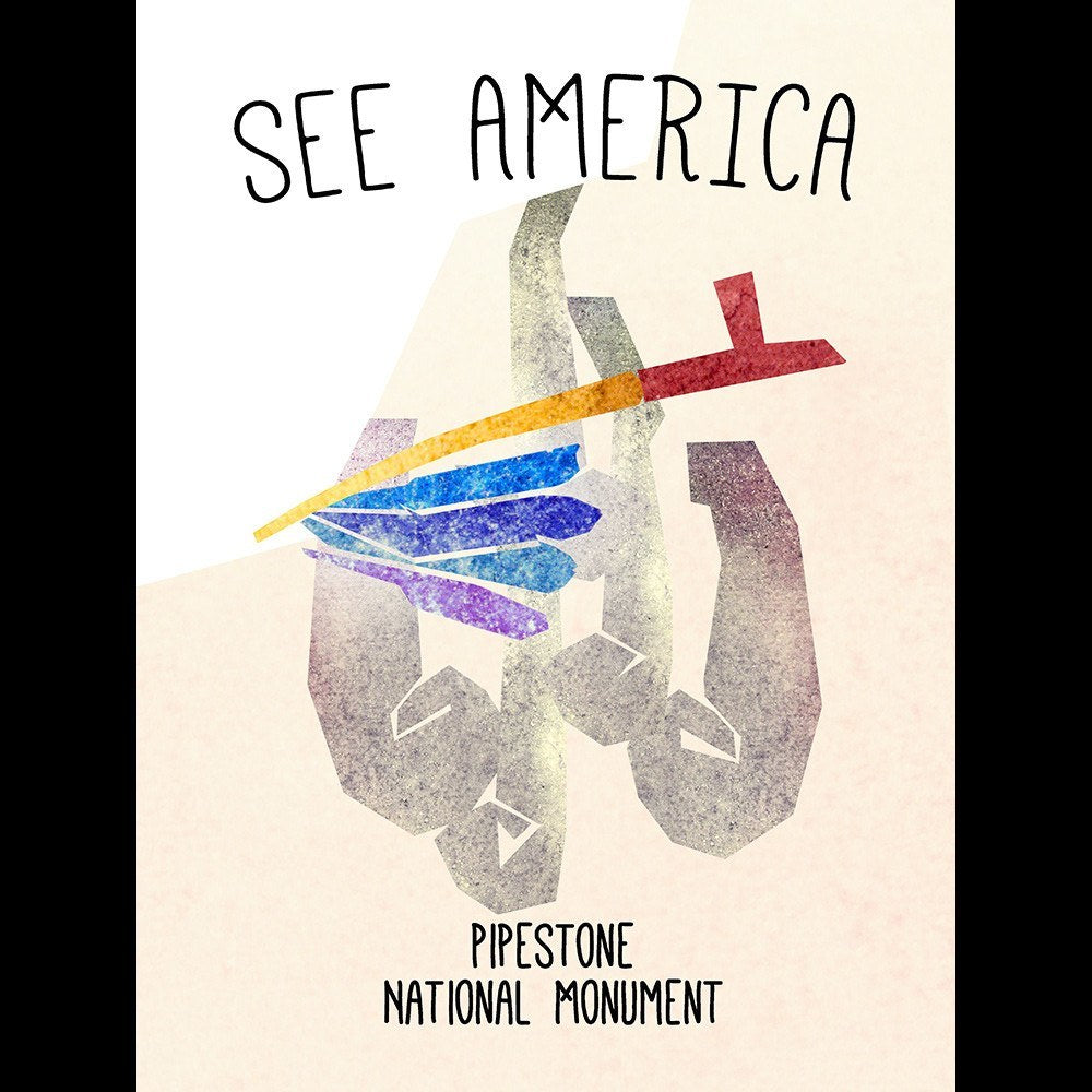 Pipestone National Monument  by Eleanor Beeden for See America - 3