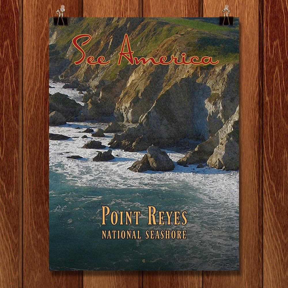Point Reyes National Seashore by Ed Gaither for See America - 1