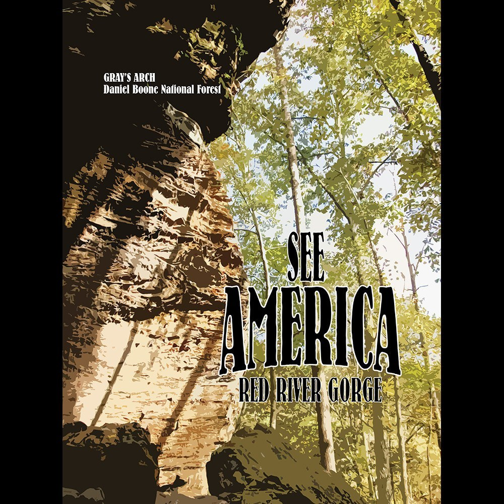 Red River Gorge, Daniel Boone National Forest 2 by Susan Tucker for See America - 3