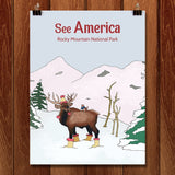 Rocky Mountain National Park by Daisy Patton for See America - 1