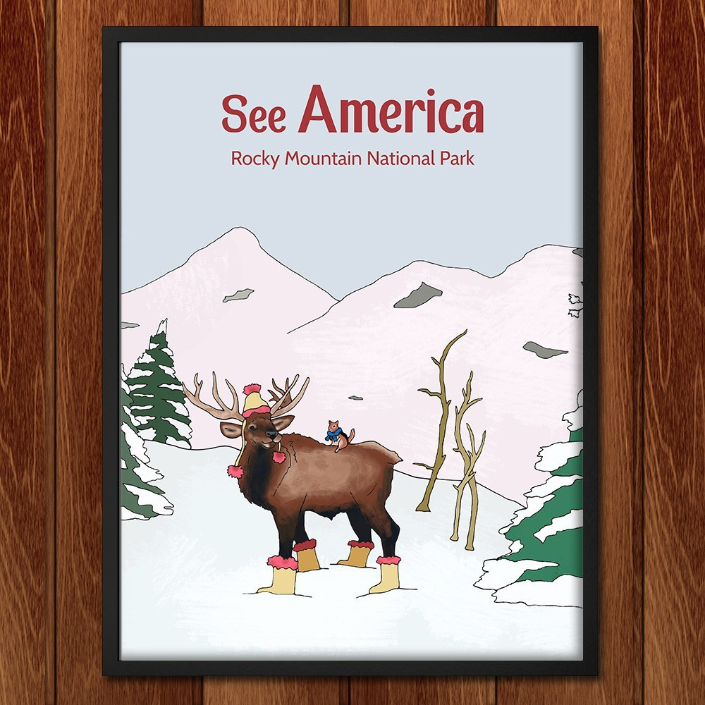 Rocky Mountain National Park by Daisy Patton for See America - 2