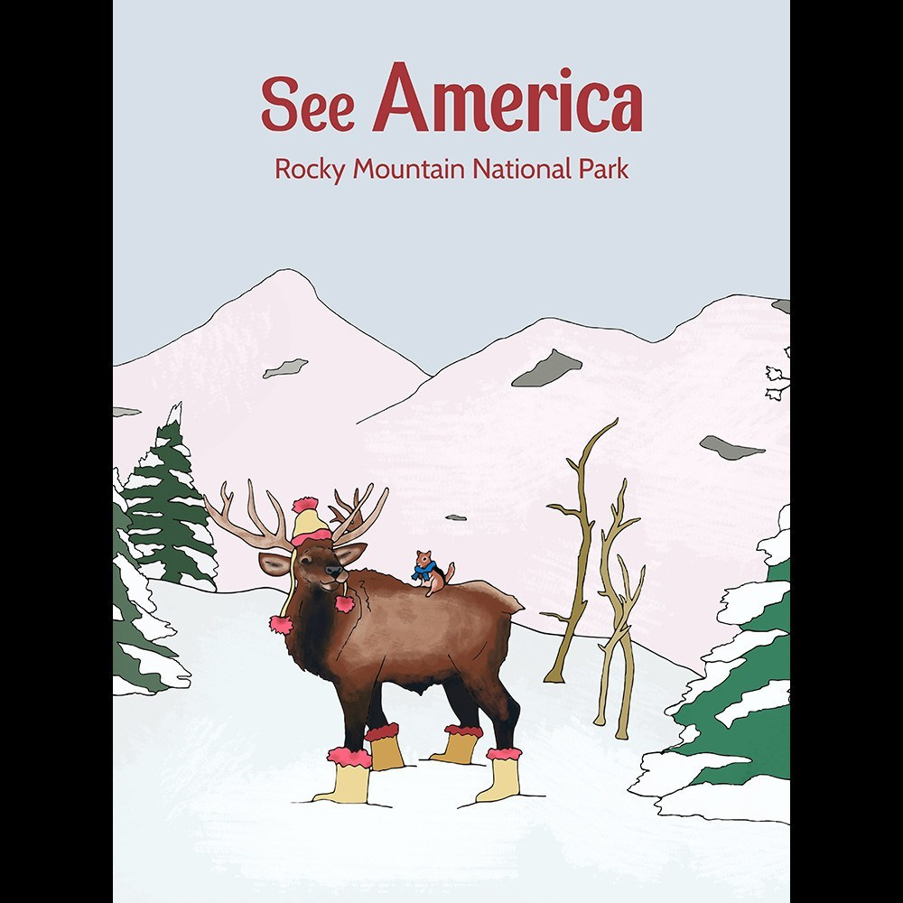 Rocky Mountain National Park by Daisy Patton for See America - 3