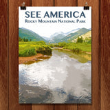 Rocky Mountain National Park by Zack Frank for See America - 1