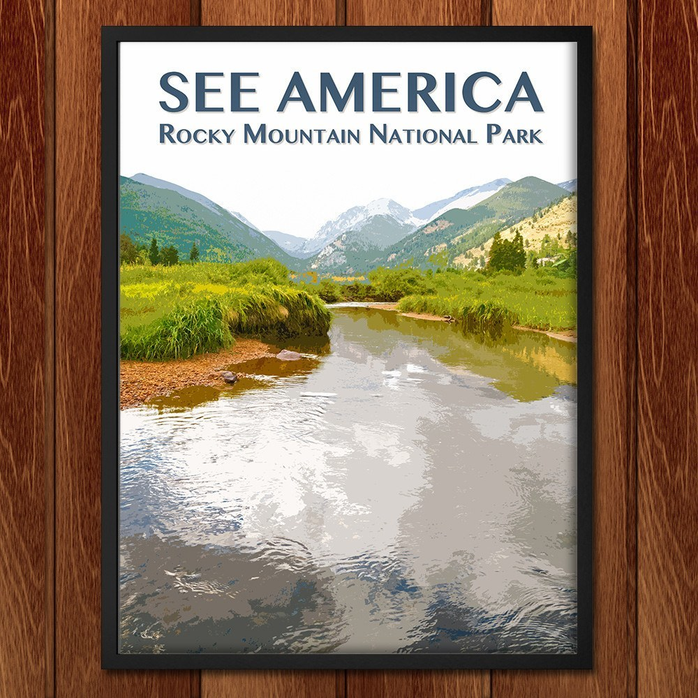 Rocky Mountain National Park by Zack Frank for See America - 2