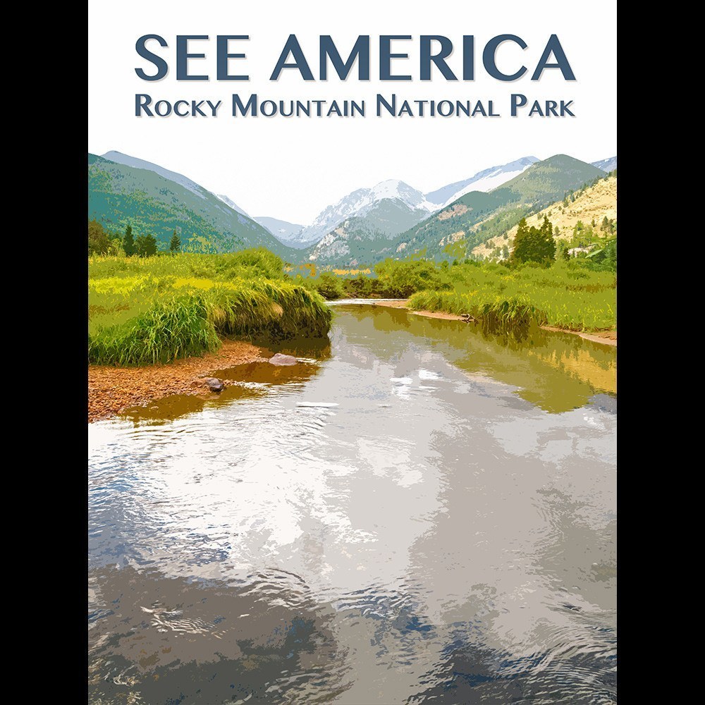 Rocky Mountain National Park by Zack Frank for See America - 3