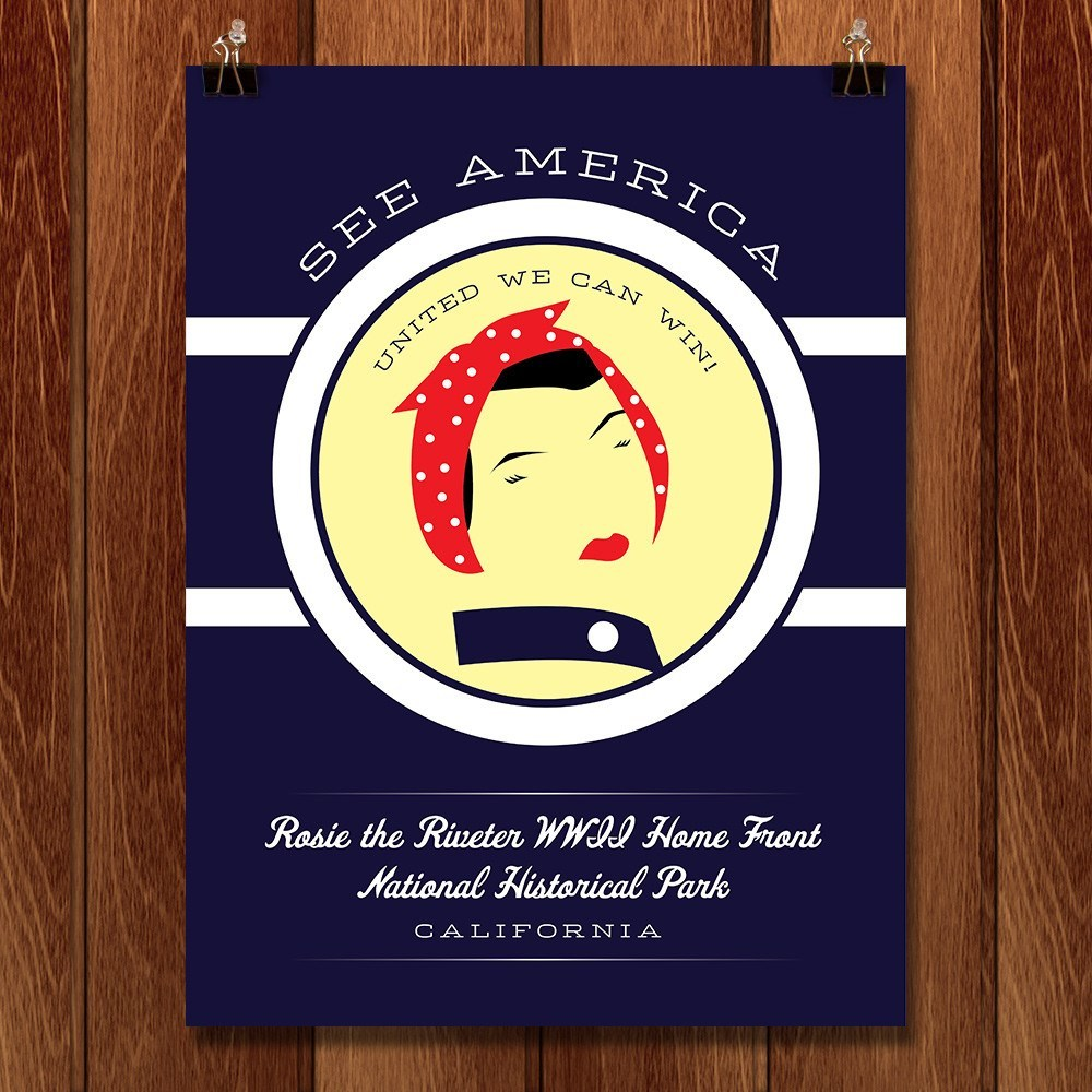 Rosie the Riveter WWII Home Front National Historical Park by Brandon Kish for See America - 1