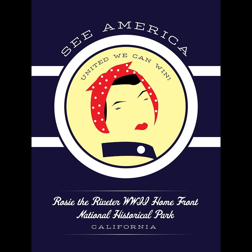 Rosie the Riveter WWII Home Front National Historical Park by Brandon Kish for See America - 3