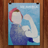 Rosie the Riveter WWII Home Front National Historical Park by Eleanor Beeden for See America - 1