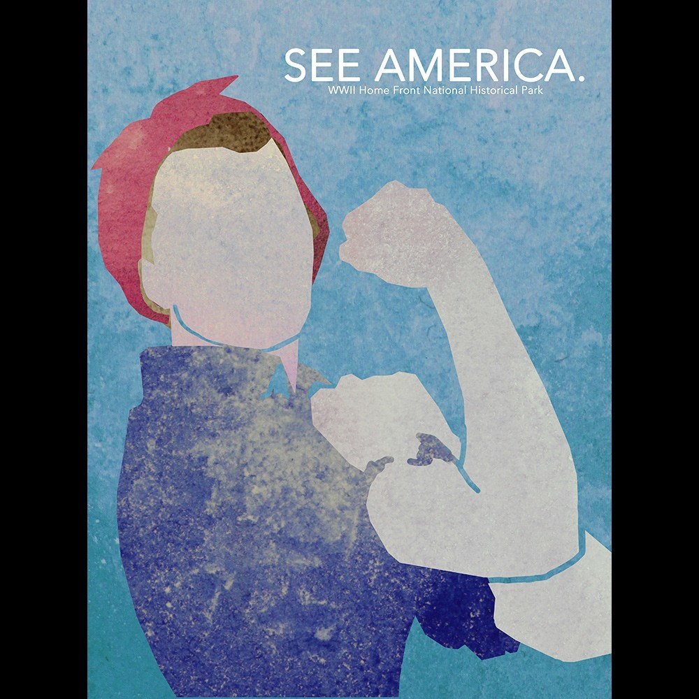 Rosie the Riveter WWII Home Front National Historical Park by Eleanor Beeden for See America - 3
