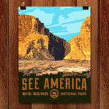 Santa Elena Canyon, Big Bend National Park by Aaron Bates for See America - 1