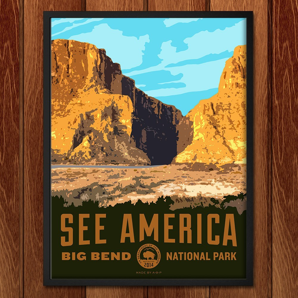 Santa Elena Canyon, Big Bend National Park by Aaron Bates for See America - 2