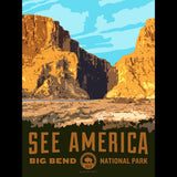 Santa Elena Canyon, Big Bend National Park by Aaron Bates for See America - 3