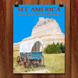 Scotts Bluff National Monument by Zack Frank for See America - 1