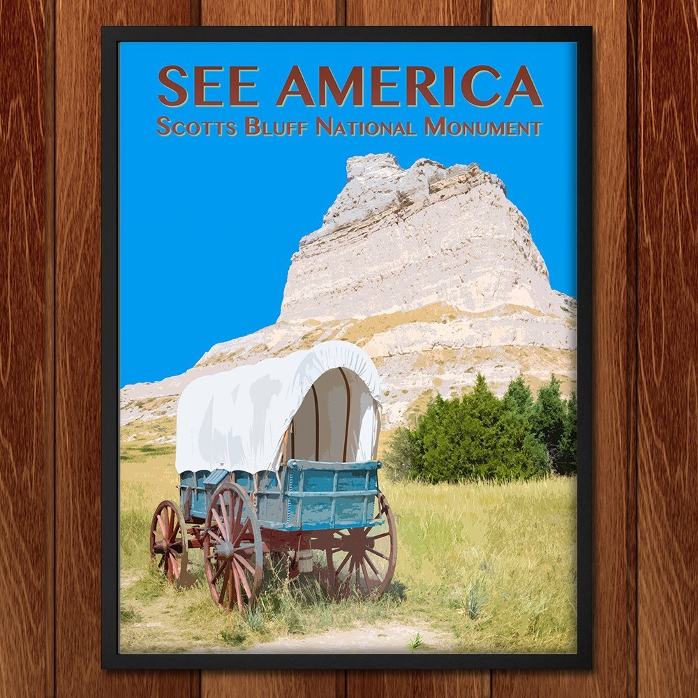 Scotts Bluff National Monument by Zack Frank for See America - 2