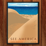 Sleeping Bear Dunes National Lakeshore by Mark Forton for See America - 2