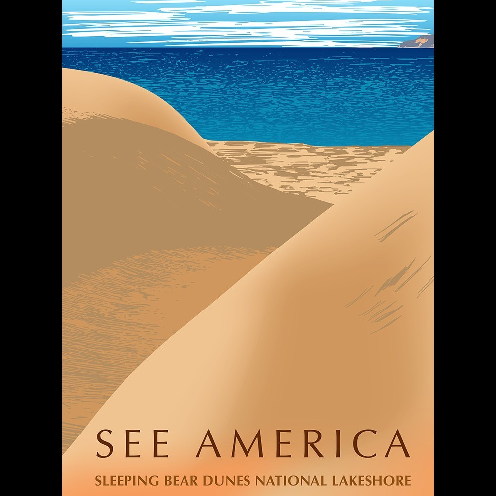 Sleeping Bear Dunes National Lakeshore by Mark Forton for See America - 3