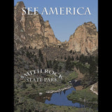 Smith Rock State Park by Marcia Brandes for See America - 3