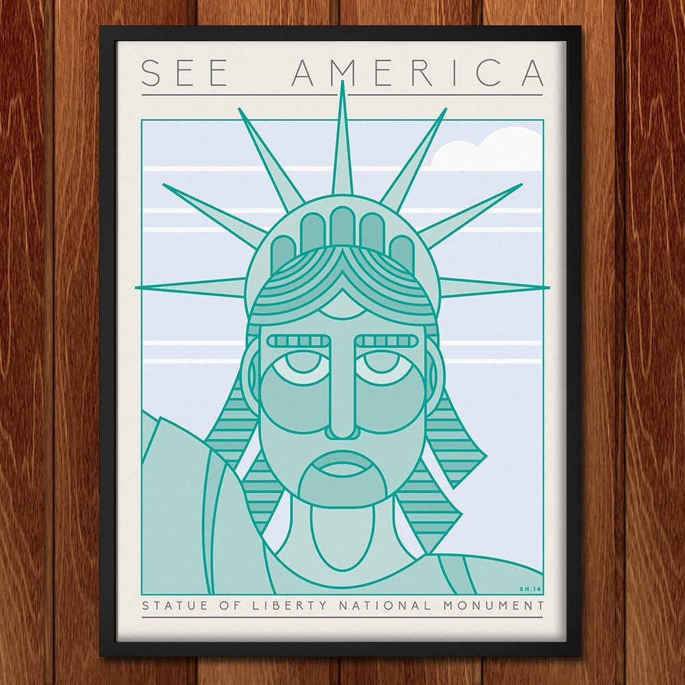 Statue of Liberty National Monument by Shane Henderson for See America - 2