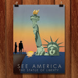 Statue of Liberty National Monument by Wade Greenberg for See America - 1